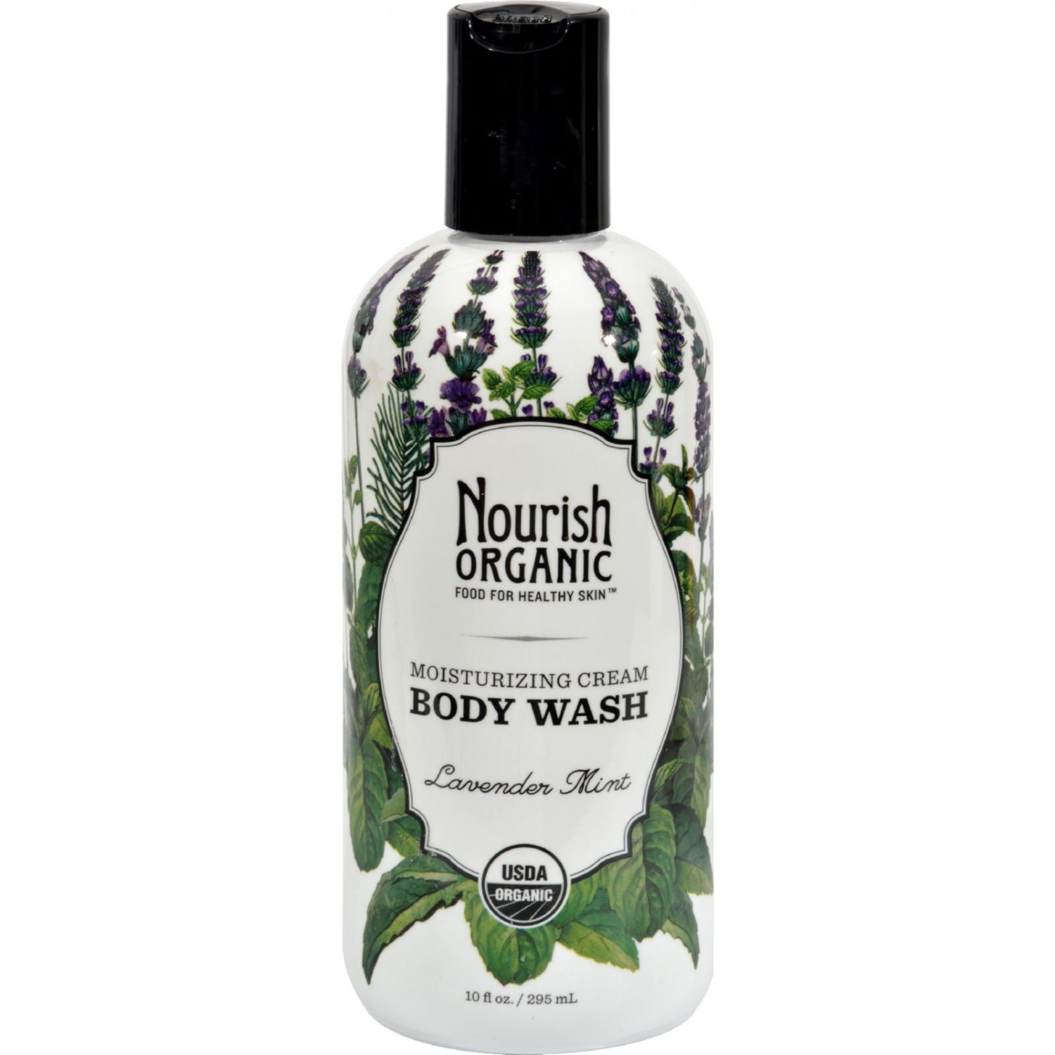 Nourish Organic Body Wash - Lavender Mint - 10 oz