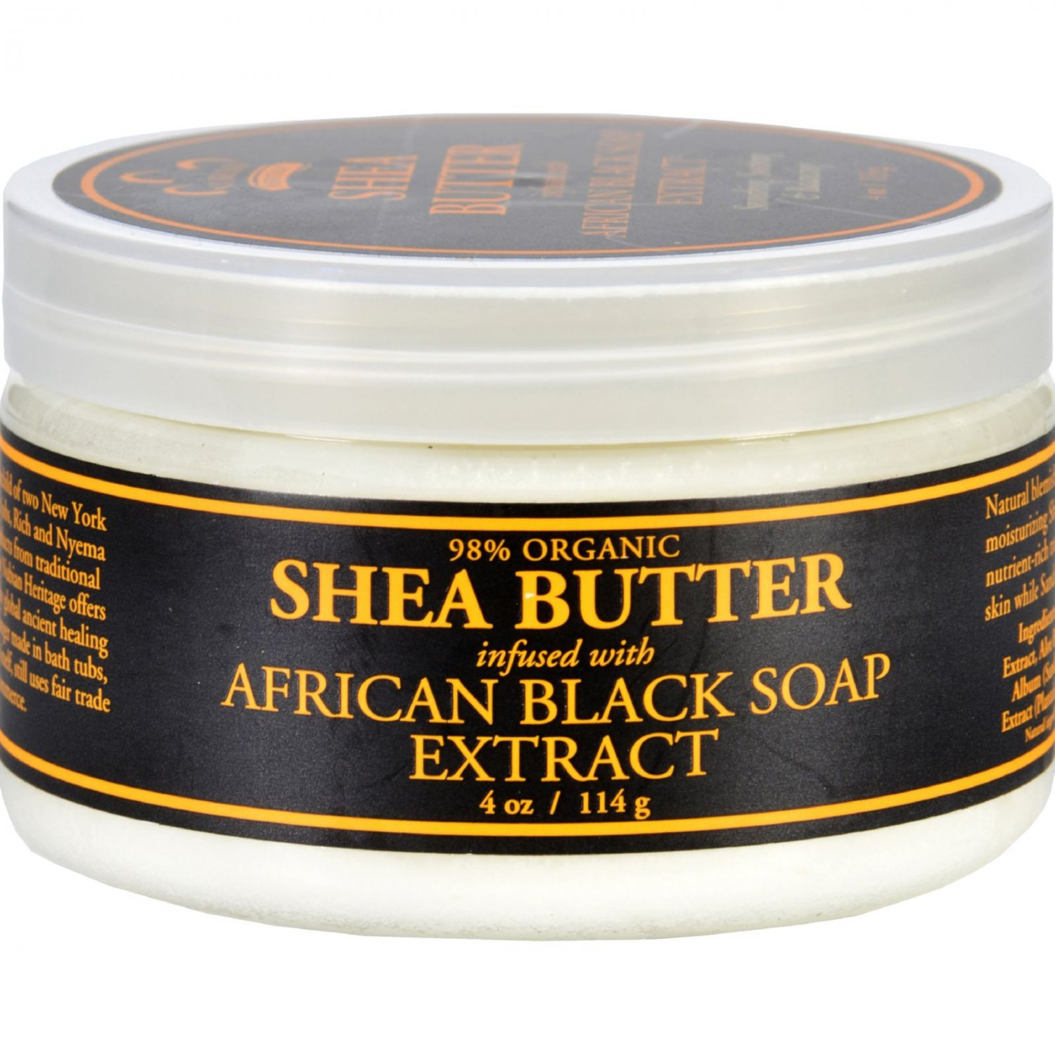 Nubian Heritage Shea Butter Infused With Oats And Aloe - 4 oz