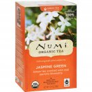 Numi Organic Tea Jasmine Green - 18 Tea Bags - Case of 6