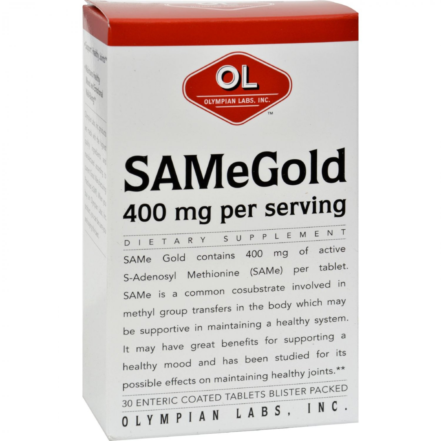 Olympian Labs Same Gold - 400 Mg - 30 Tablets