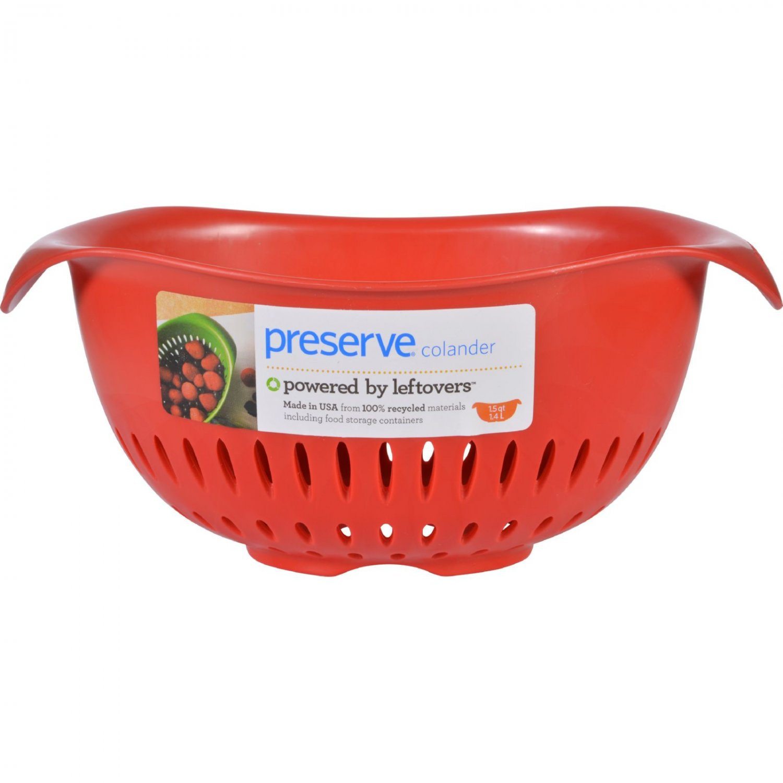 Preserve Small Colander - Red - 1.5 qt