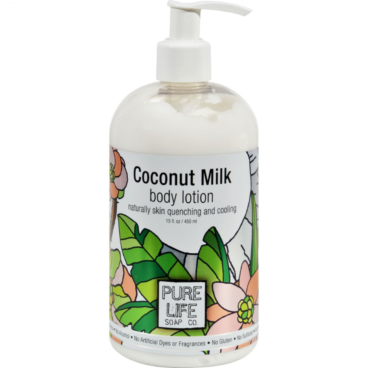 Pure Life Body Lotion Coconut - 14.9 fl oz
