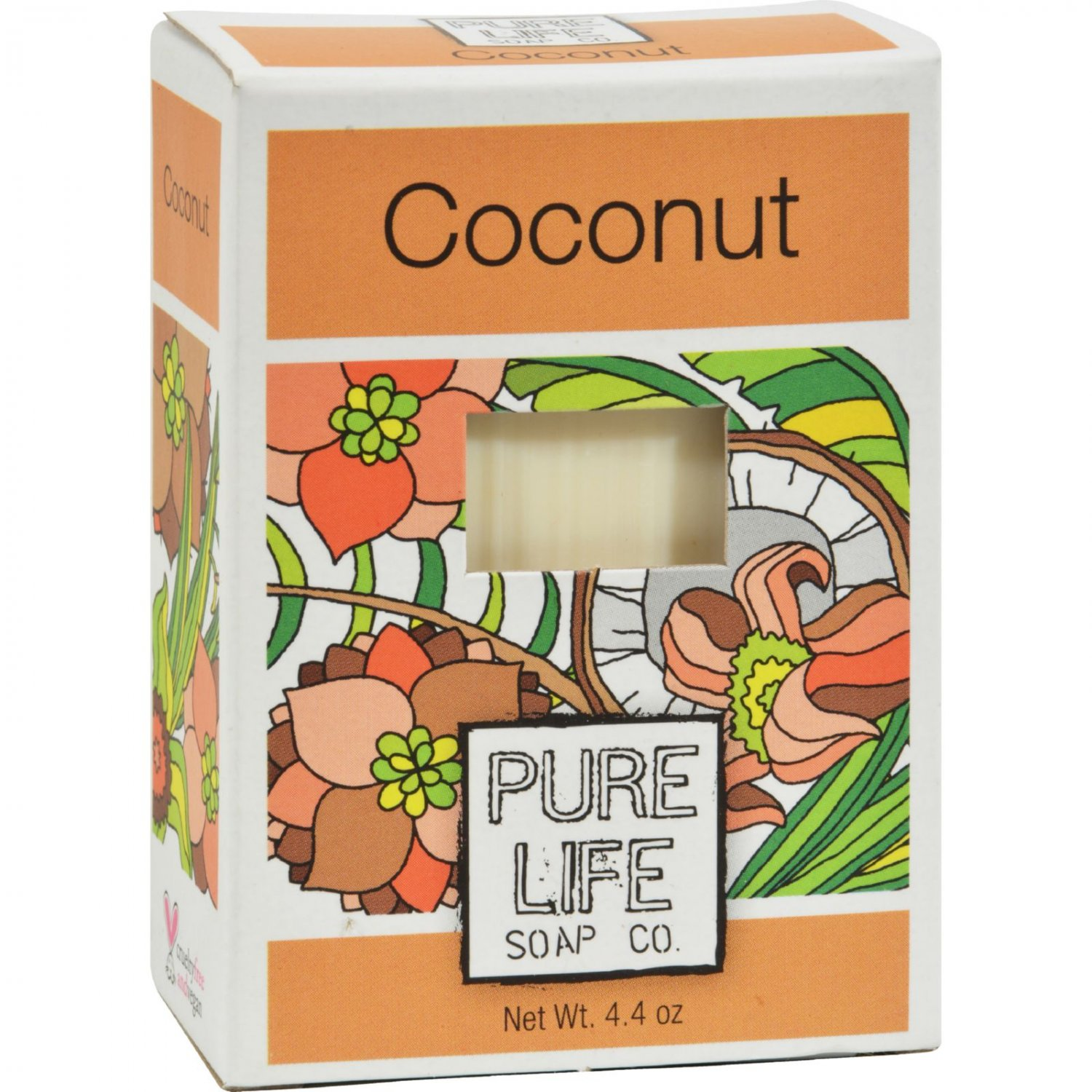 Pure Life Soap Coconut - 4.4 oz