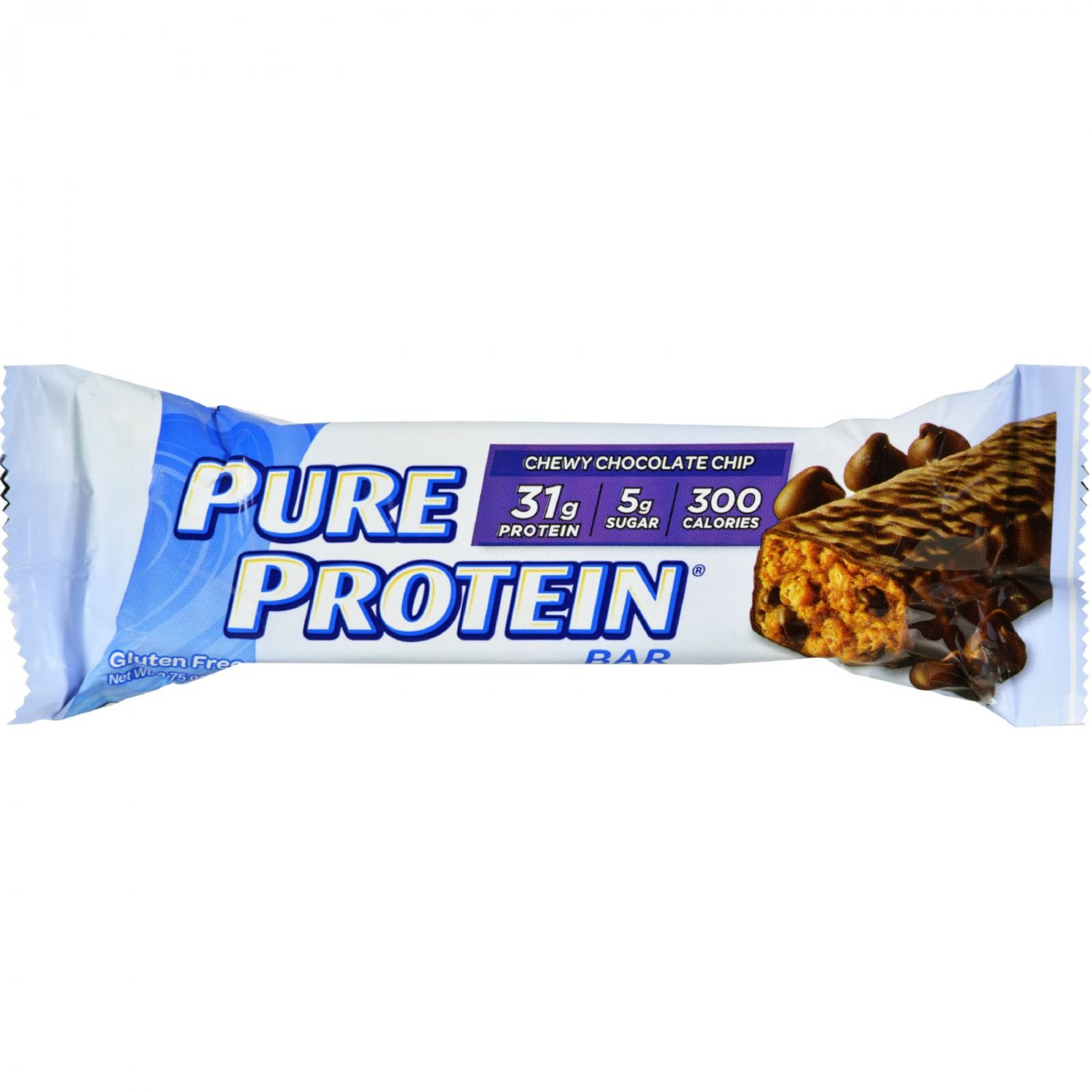 Pure Protein Bar - Chewy Chocolate - Case of 12 - 78 Grams