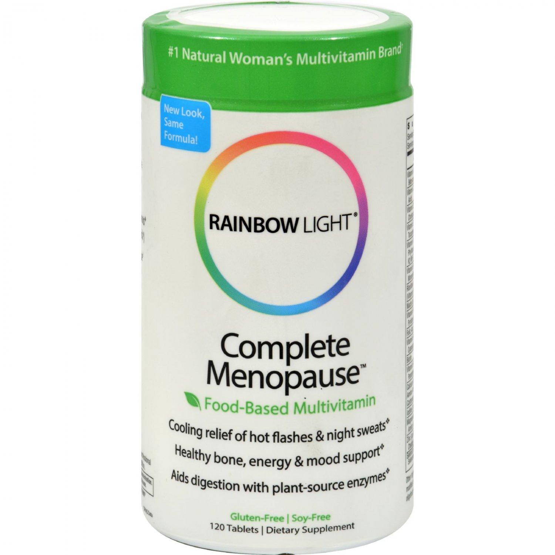 Rainbow Light Complete Menopause Multivitamin - 120 Tablets