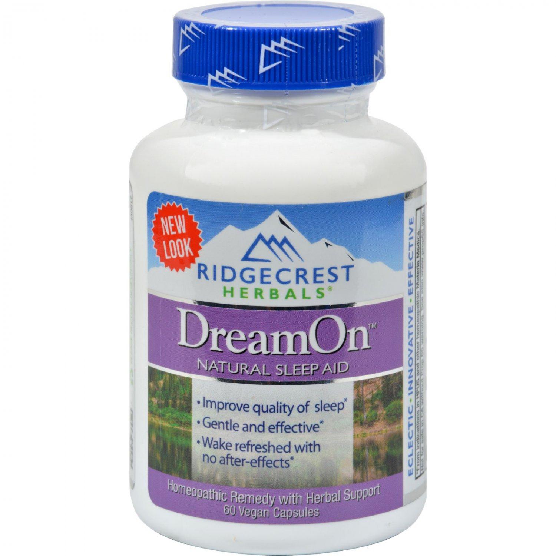 RidgeCrest Herbals DreamOn Natural Sleep Aid - 60 Capsules