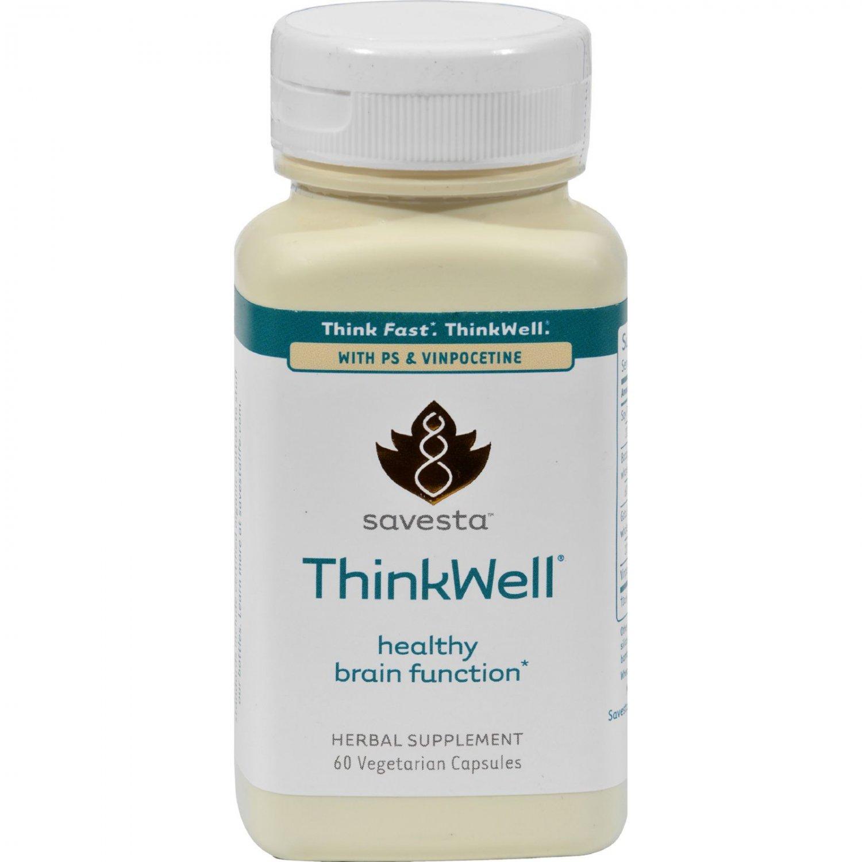 Savesta ThinkWell - 60 Vegetarian Capsules
