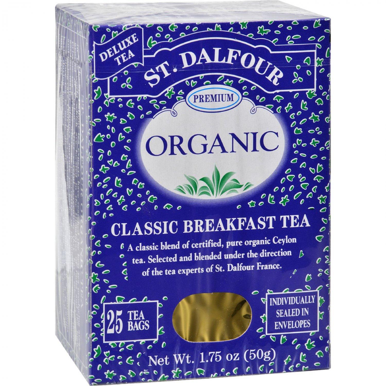 St Dalfour Organic Classic Breakfast Tea - 25 Tea Bags