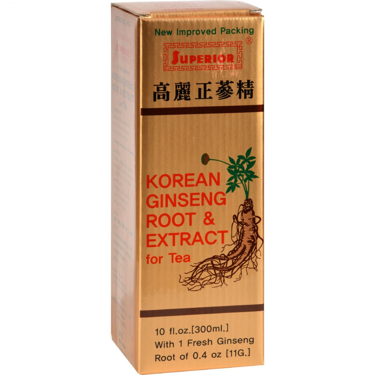 Superior Trading Co. Korean Ginseng Root and Ext - 10 oz