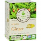 Traditional Medicinals Organic Ginger Herbal Tea - 16 Tea Bags - Case of 6