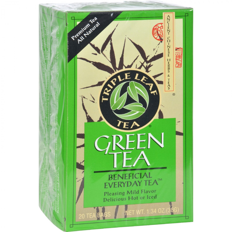 Triple Leaf Tea Green Tea - Case of 6 - 20 Bags