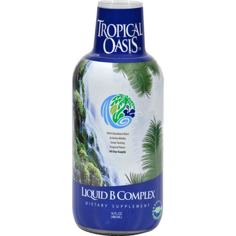 Tropical Oasis Liquid B-Complex - 16 fl oz