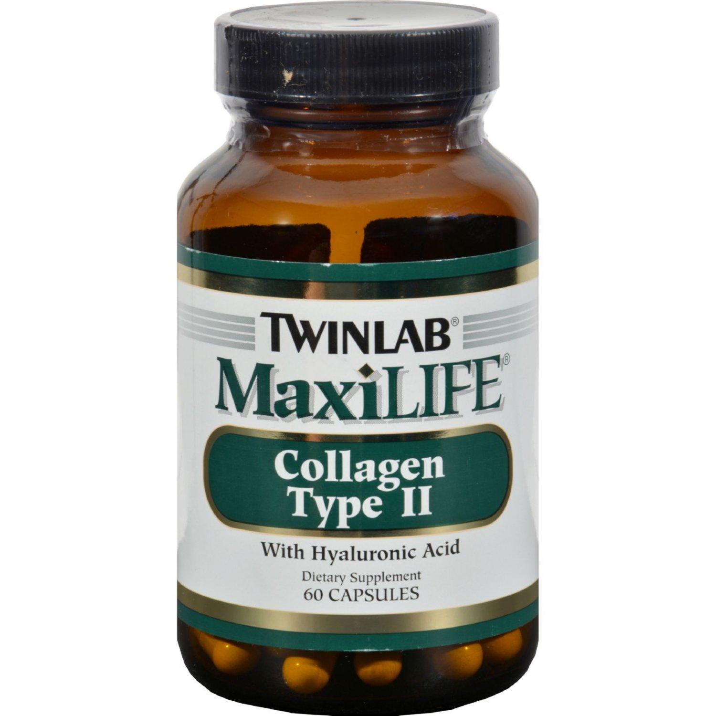 Twinlab MaxiLIFE Collagen Type II - 60 Capsules