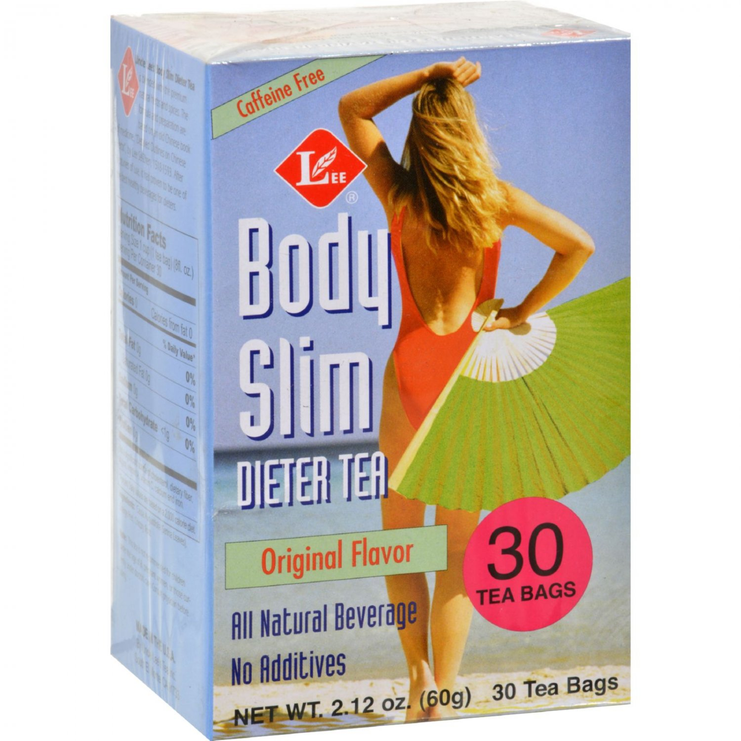 Uncle Lee's Tea Body Slim Dieter Tea Original Flavor - Caffeine Free - 30 Tea Bags