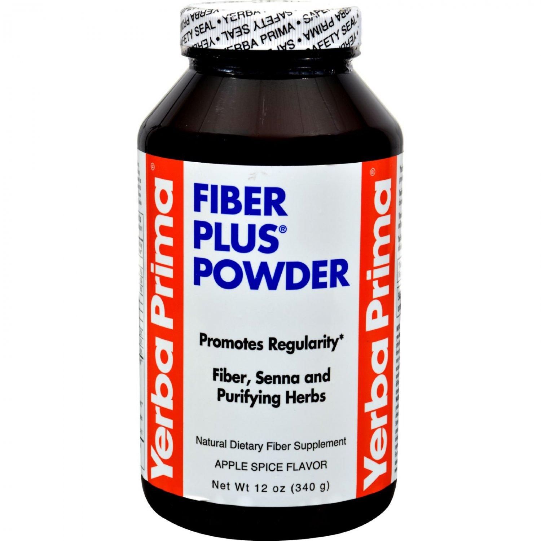 Yerba Prima Fiber Plus Powder Apple Spice - 12 oz