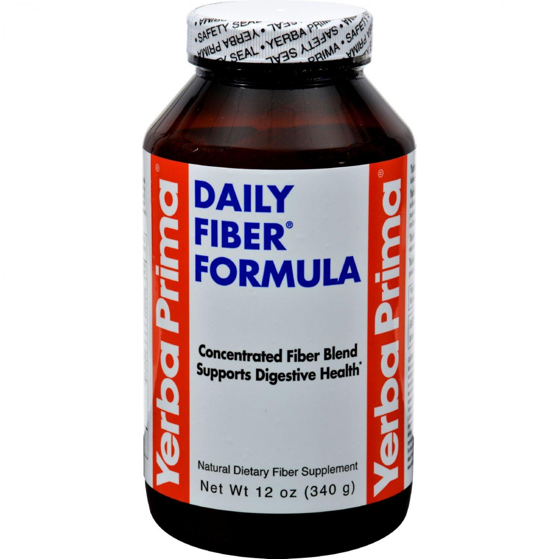 Yerba Prima Daily Fiber Formula - 12 oz
