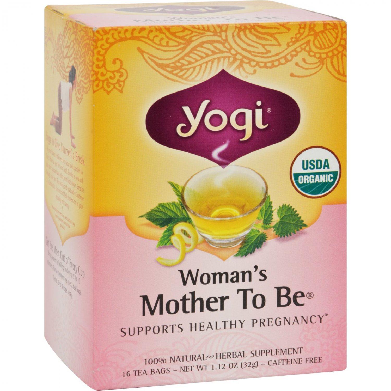 Yogi Tea Woman's Mother To Be - Caffeine Free - 16 Tea Bags