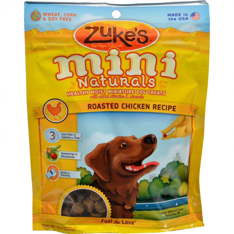 Zuke's Mini Naturals Dog Treats Chicken - 6 oz