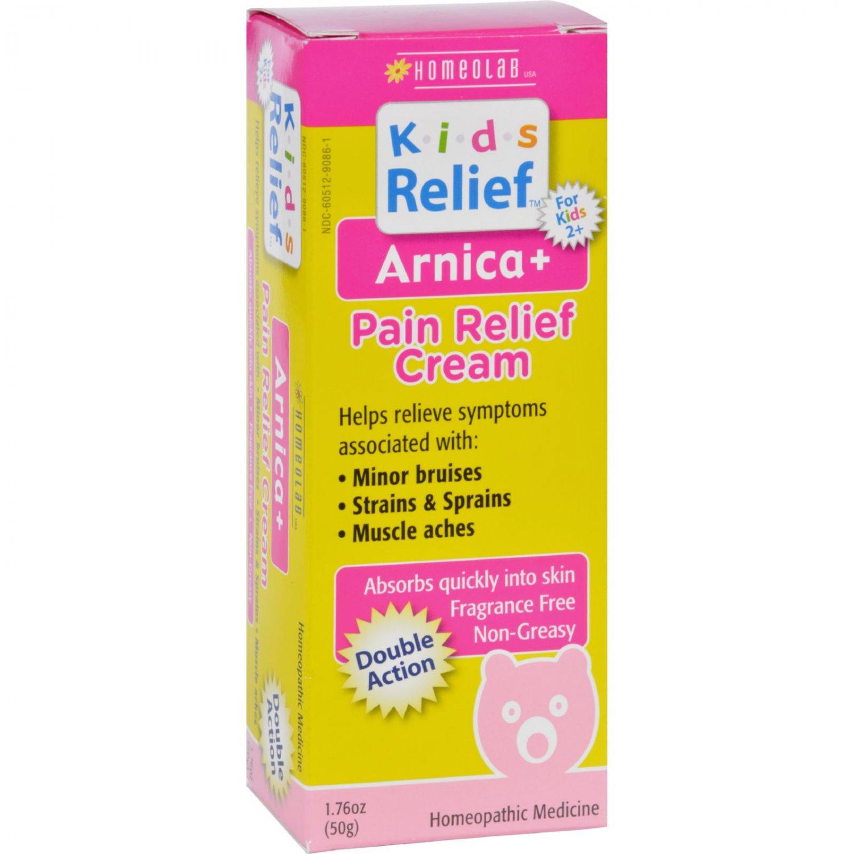 Homeolab USA Kids Relief Arnica Plus Pain Relief Cream - 1.76 oz