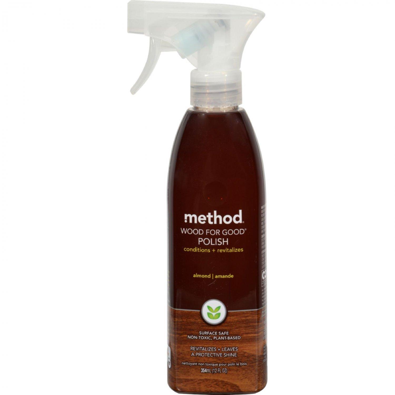 Method Wood For Good Spray - Almond - 12 oz - Case of 6