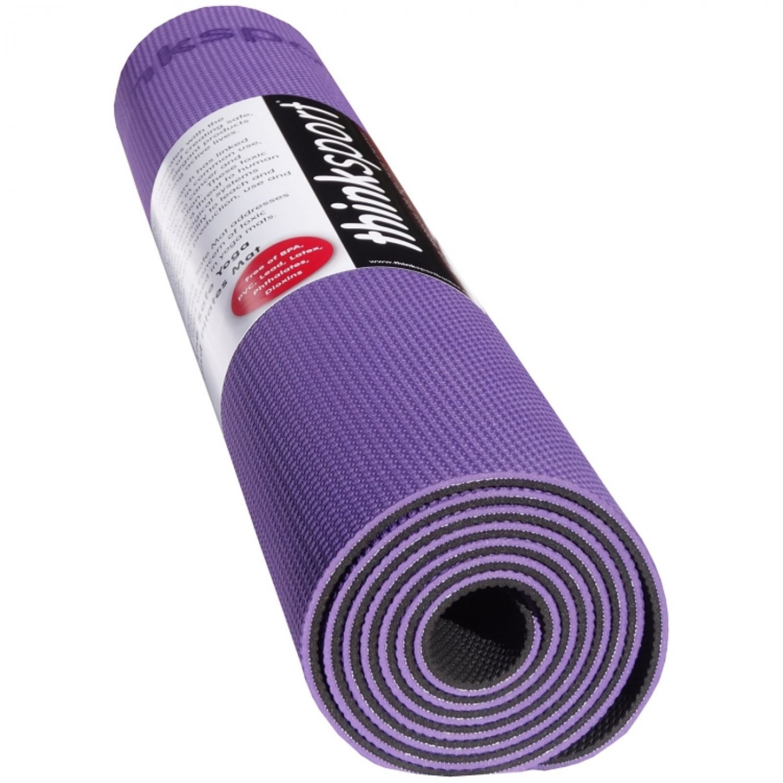 Thinksport Yoga Mat - Purple/Black