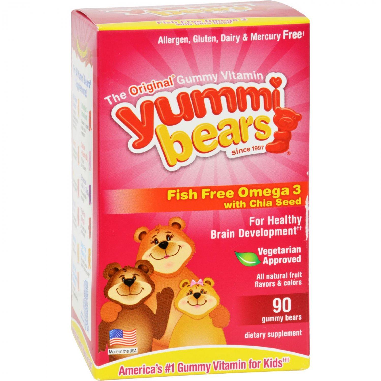Hero Nutritionals Yummi Bear - Omega 3-6-9 - 90 count