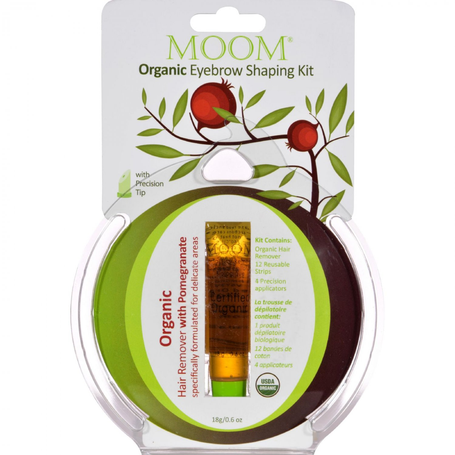 Moom Eyebrow Shaping Kit - .6 oz