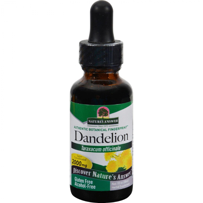 Nature's Answer Af Dandelion Root - 1 fl oz