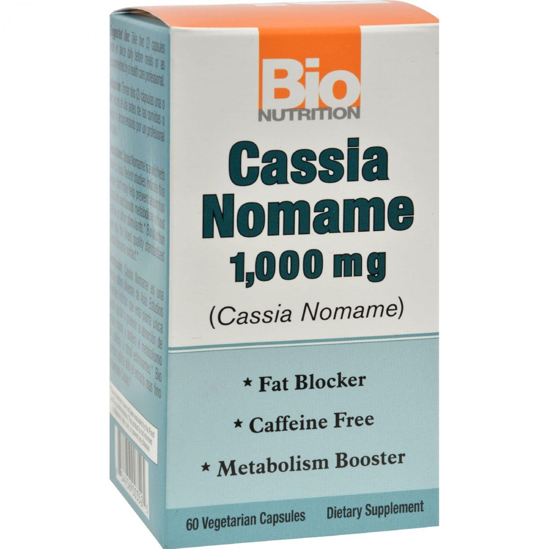 Bio Nutrition Cassia Nomame - 1000 mg - 60 Vegetarian Capsules