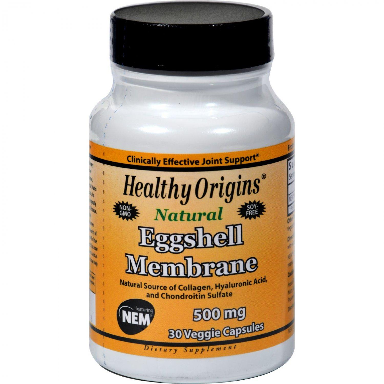Healthy Origins Eggshell Membrane - 500 mg - 30 Vegetarian Capsules