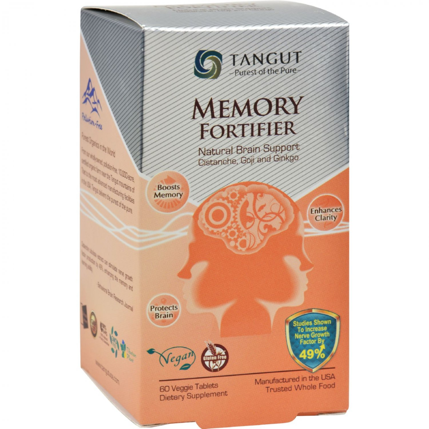 Tangut Memory Fortifier - 60 Tablets