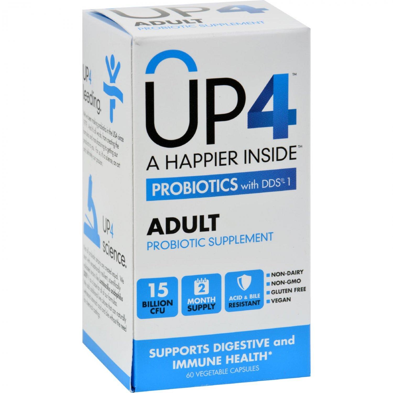 Up4 Probiotics - DDS1 Adult - 60 Vegetarian Capsules