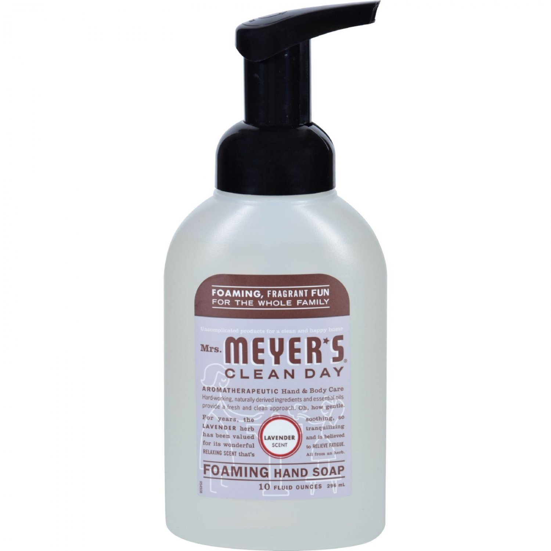 Mrs. Meyer's Foaming Hand Soap - Lavender - Case of 6 - 10 fl oz