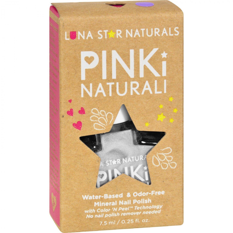 Lunastar Pinki Naturali Nail Polish - Juneau (Pearly White) - .25 fl oz
