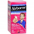 Airborne Chewable Tablets with Vitamin C - Berry - 32 Tablets