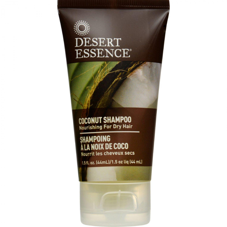 Desert Essence Shampoo - Nourishing - Coconut - Trvl - 1.5 fl oz - 1 Case