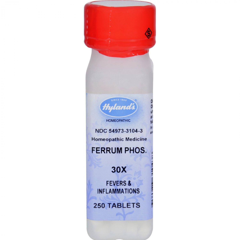 Hylands Homepathic Ferrum Phos 30X - 250 Tablets