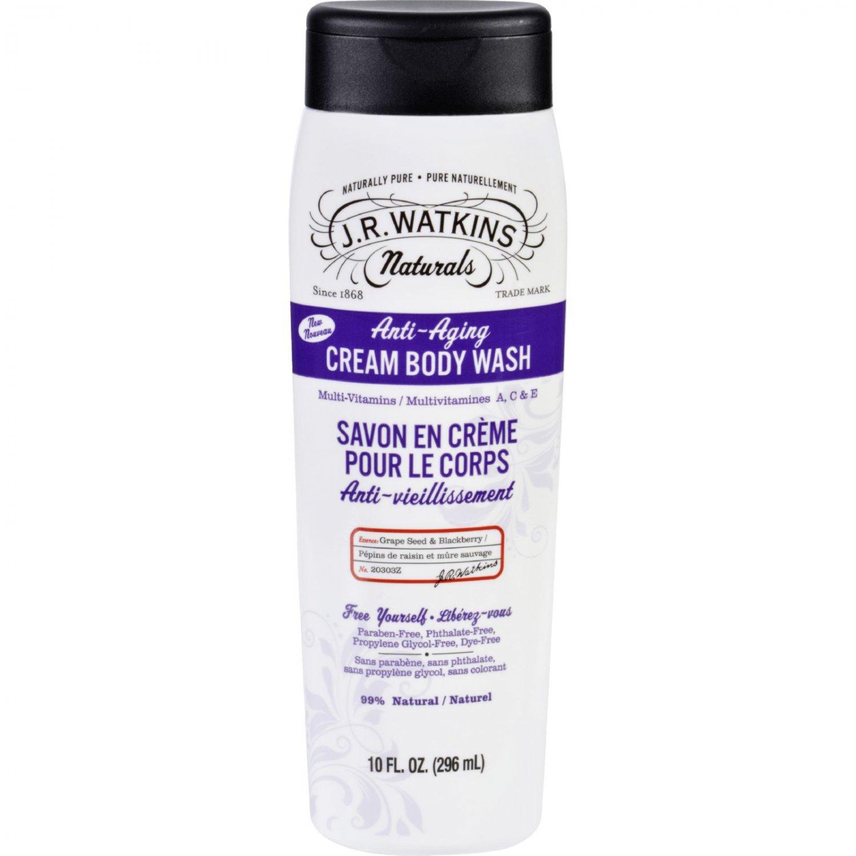 J.R. Watkins Body Wash - Anti Aging - 10 fl oz