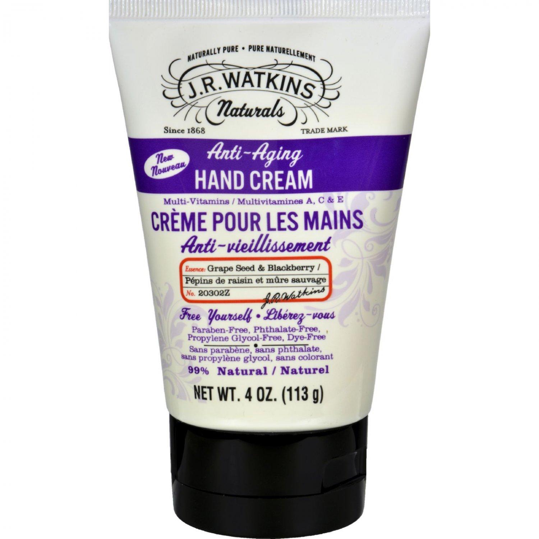 J.R. Watkins Hand Cream - Anti Aging - 4 oz