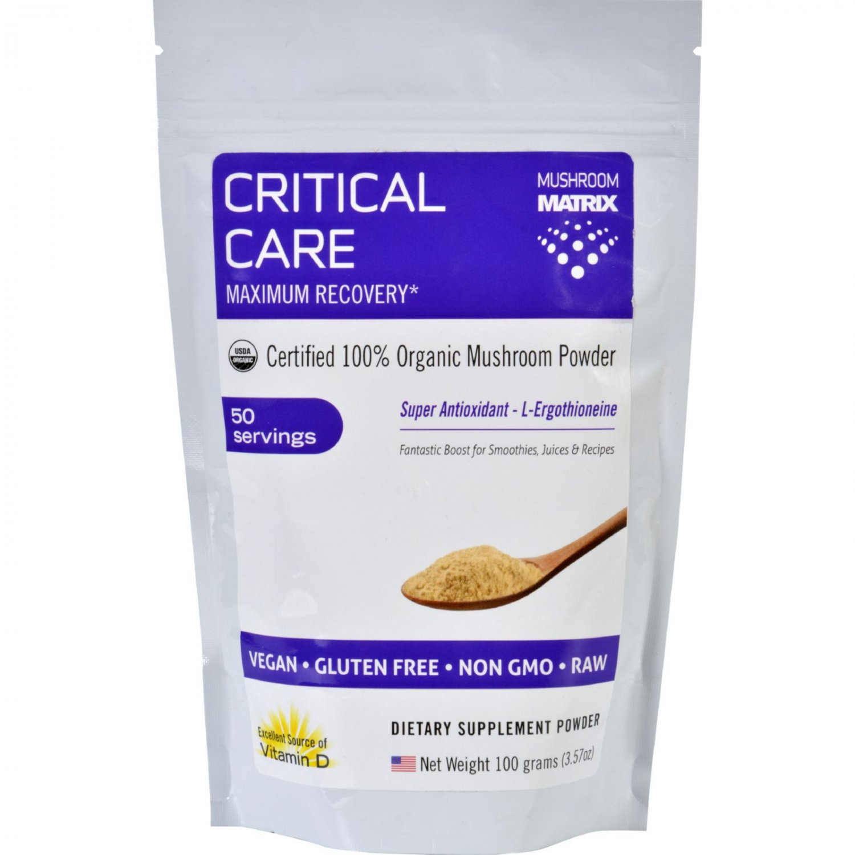 Mushroom Matrix Critical Care Matrix - Organic - Powder - 3.57 oz