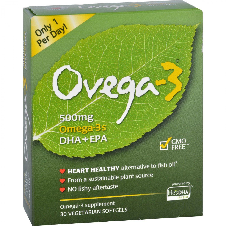 Ovega Ovega 3 - 500 mg - 30 Softgels