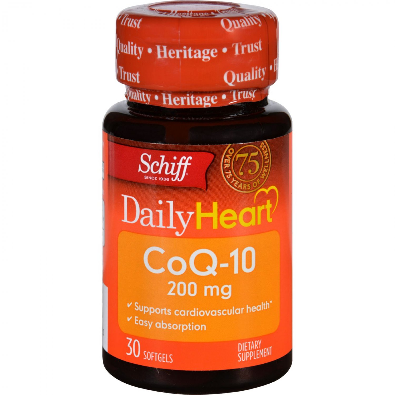 Schiff Vitamins CoQ 10 Enzyme - 200 mg - 30 Softgels