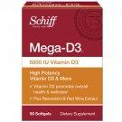 Schiff Vitamins Mega D3 - 5000 IU - 90 Softgels