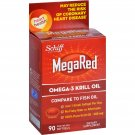Schiff Vitamins Omega 3 Krill Oil - MegaRed - 300 mg - 90 Softgels