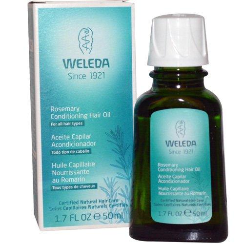 Weleda Hair Oil - Conditioning - Rosemary - 1.7 fl oz