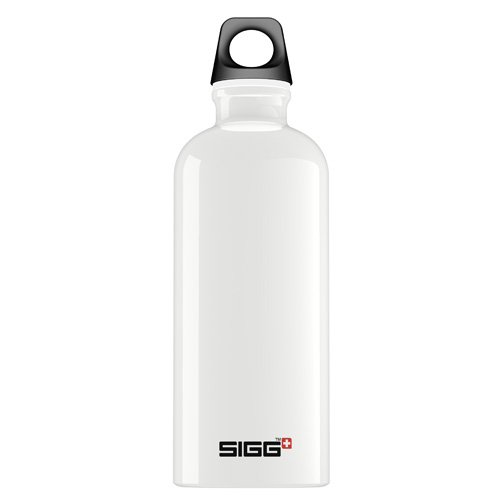 Sigg Water Bottle - Traveller - White - .6 Liter
