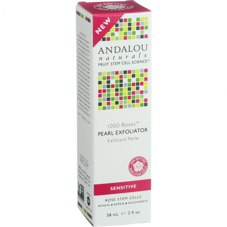 Andalou Naturals Pearl Exfoliator - 1000 Roses - 2 oz