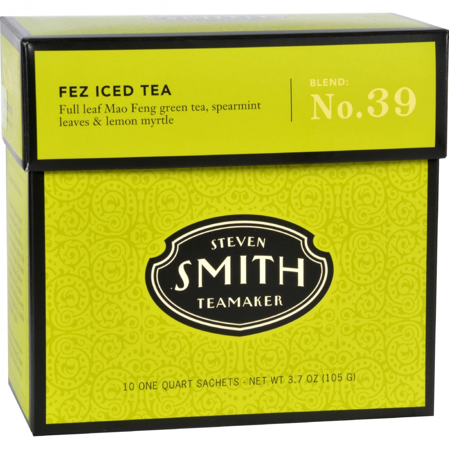 Smith Teamaker Iced Tea - Big  Hibiscus - Case of 6 - 10 Bags