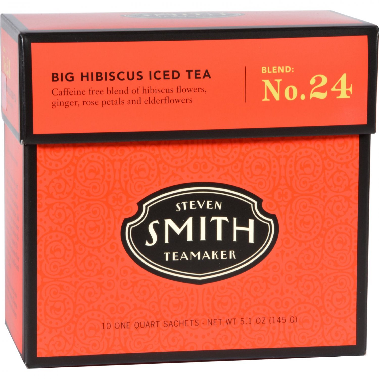 Smith Teamaker Iced Tea - Exceptional - Case of 6 - 10 Bags