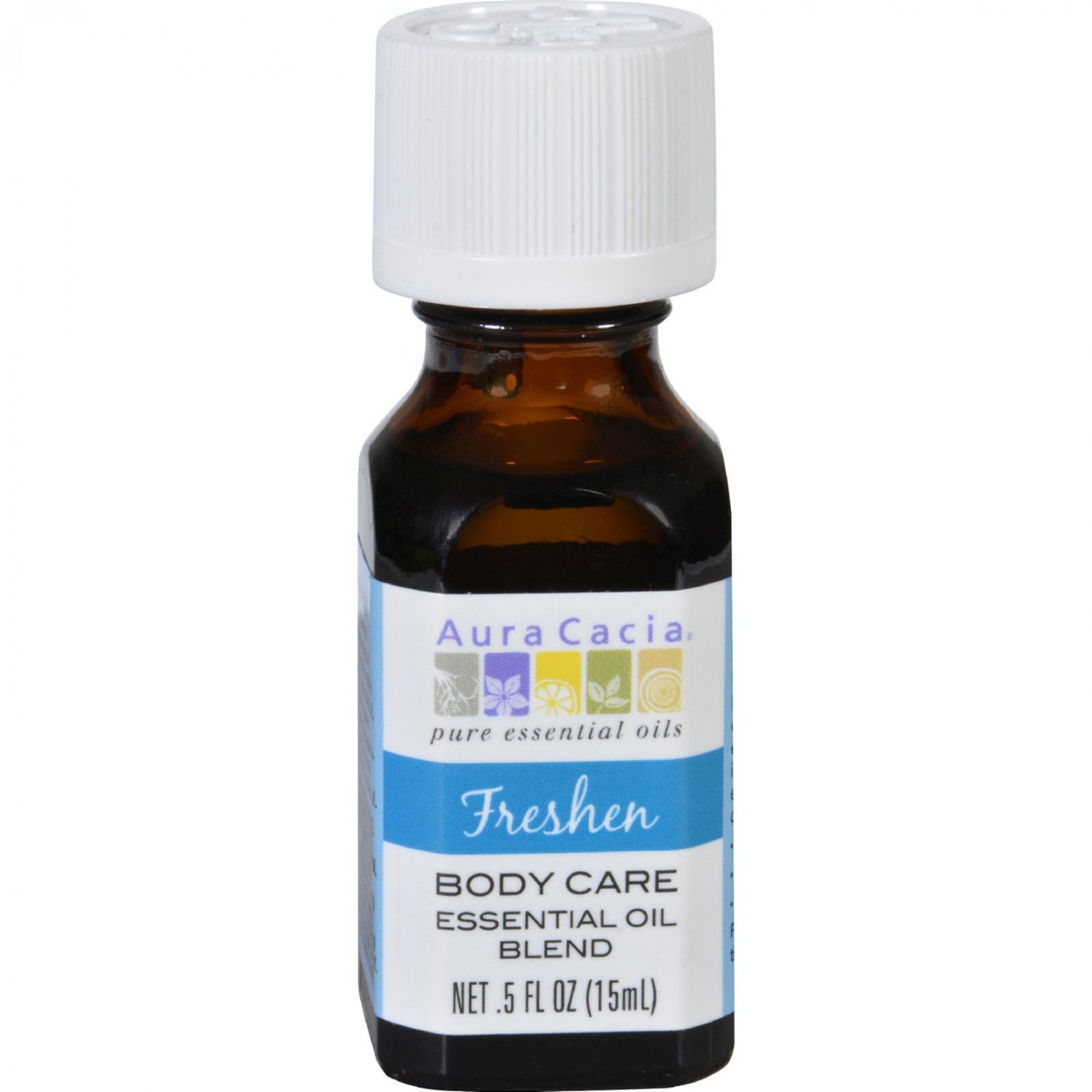 Aura Cacia Essential Oil Blend - Body - Freshen - .5 oz